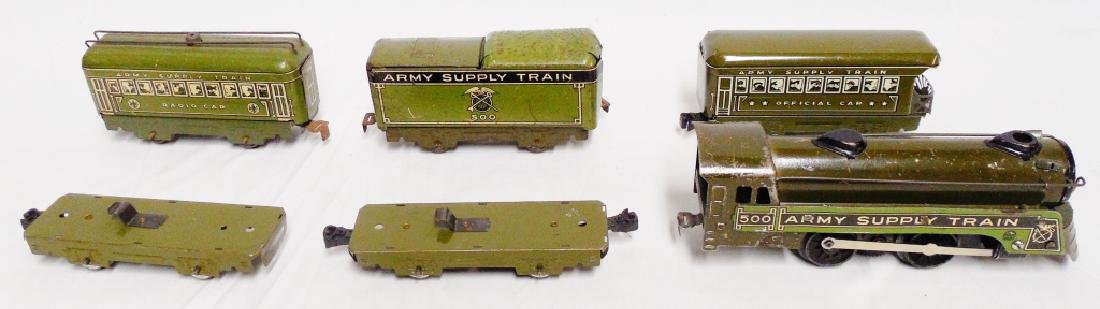 Marx Army Supply Train - 2