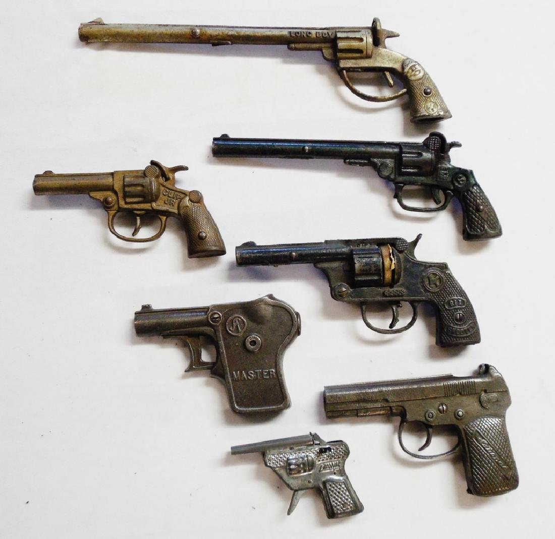 Lot of 7 Cap Guns