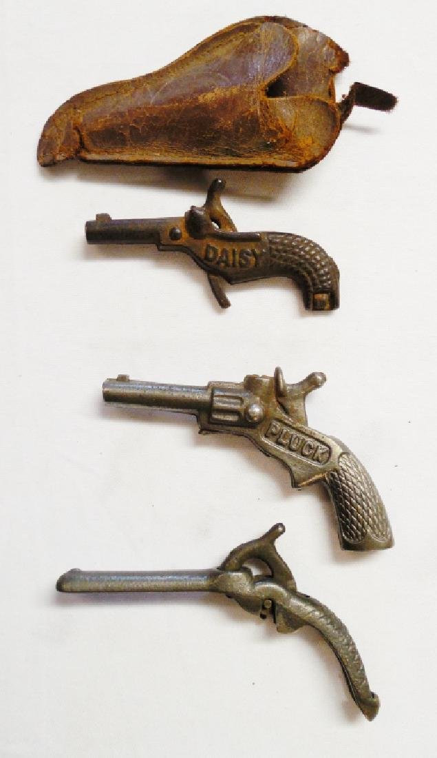 Lot of 3 Miniature Cap Guns
