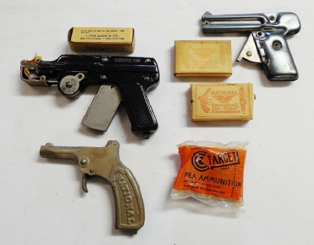Lot of 3 Toy Guns