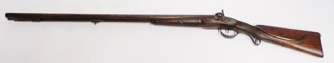 Dbl. Barrel/Hammer Rabbit Ear Fowler Shotgun