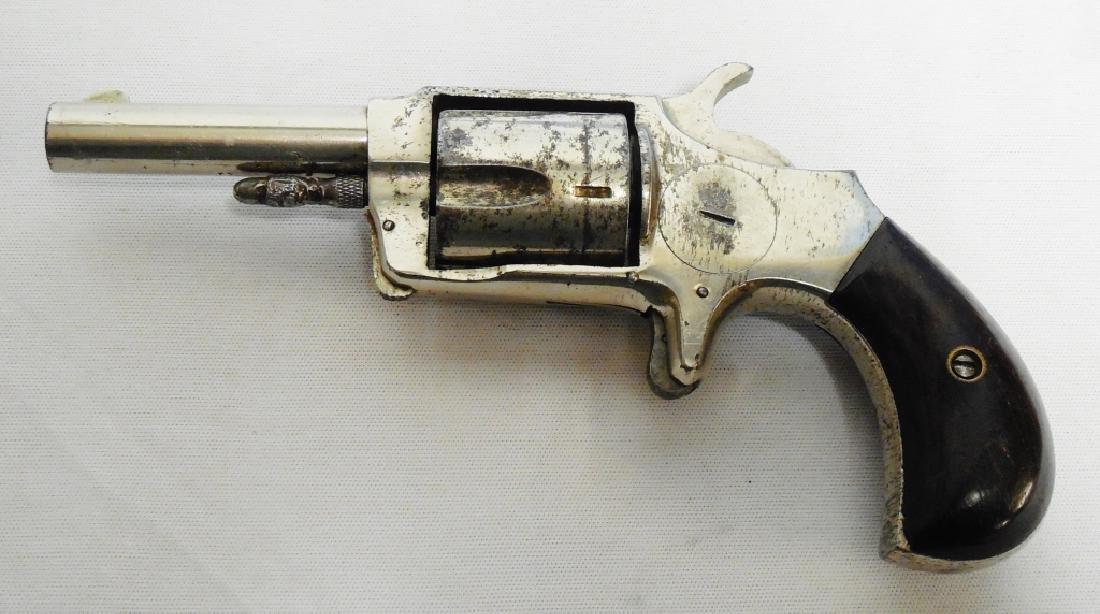 Hopkins Allen Veteran 32 Cal Spur Trigger Revolver