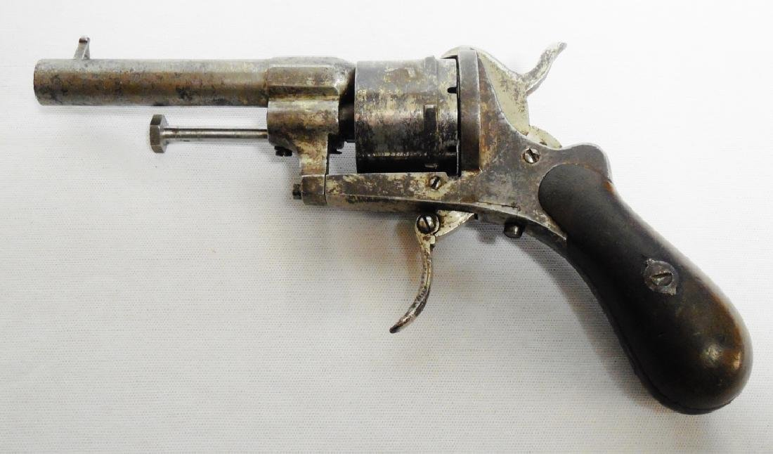 No Name 31 Cal. Pinfire Folding Trigger Revolver