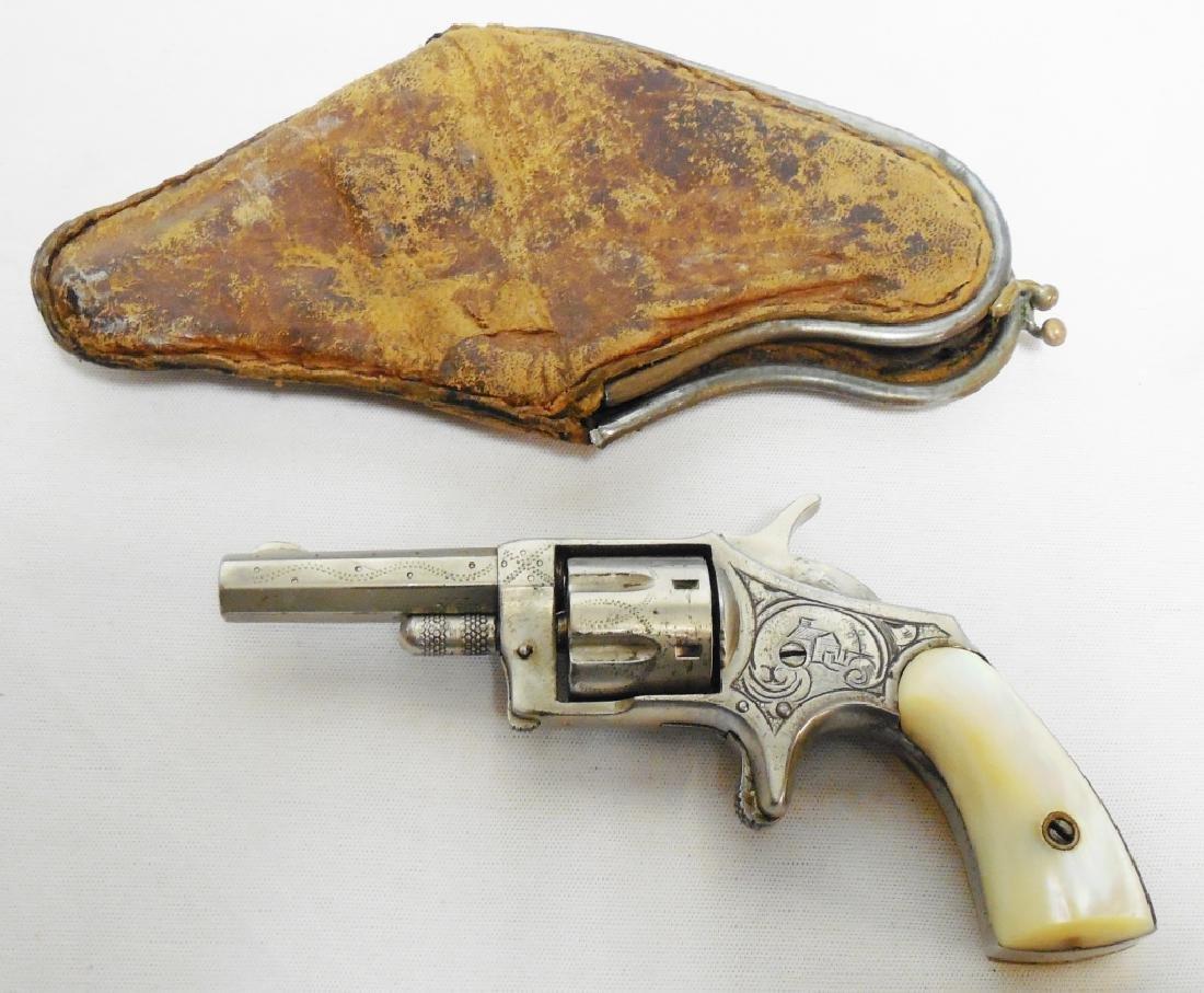 Hopkins & Allen Pioneer (?) 22 Cal 7 Shot Revolver