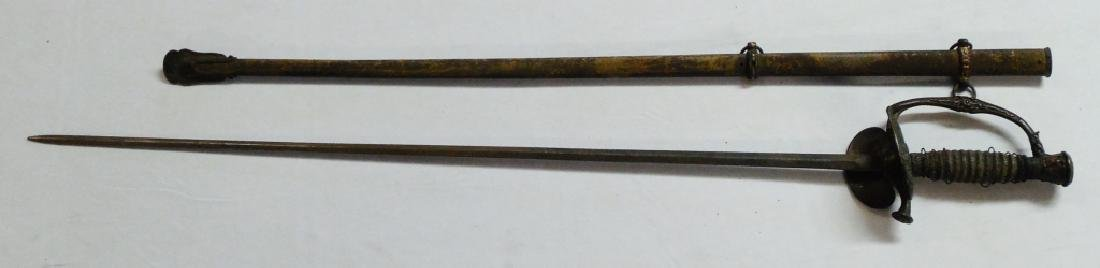 Unmarked Ames M 1860 Field & Staff Officer's Sword