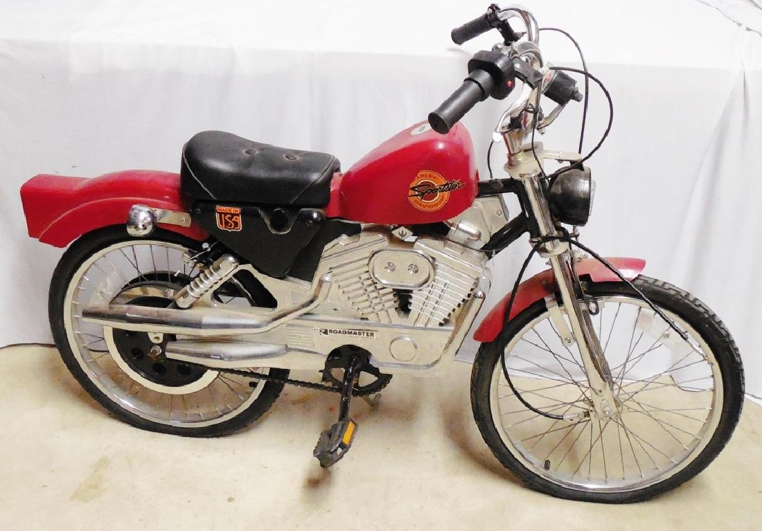 Harley Davidson Roadmaster Sportster Bicycle Red