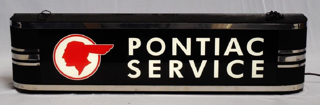 Electric Sign Pontiac Service Works