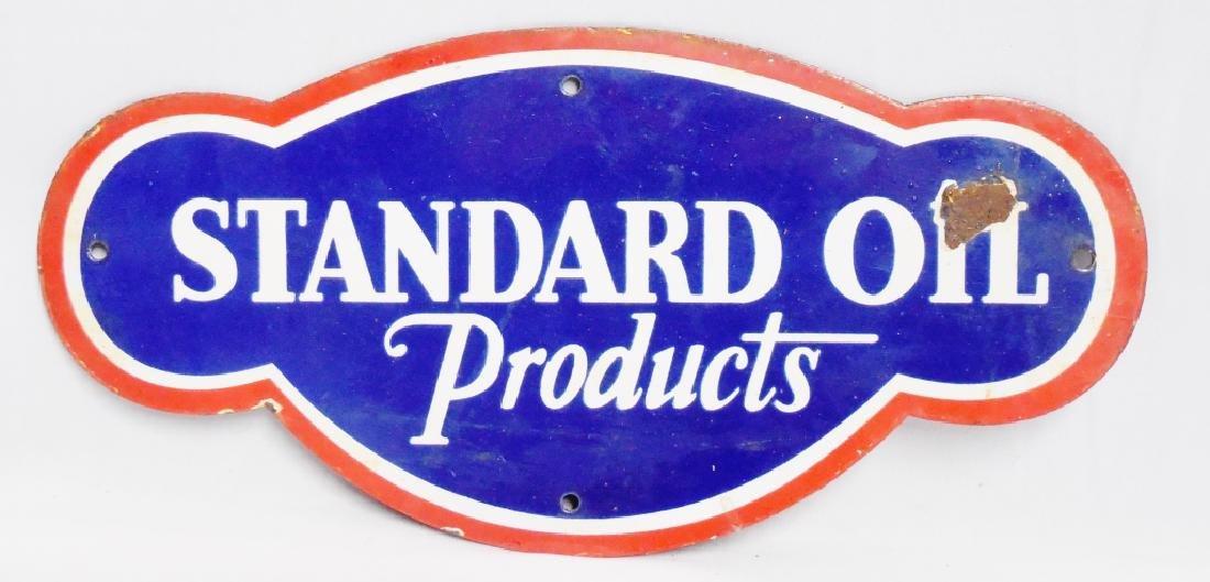 Standard Oil Products Porcelain Sign