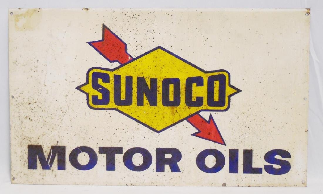 Sunoco Motor Oils Sign