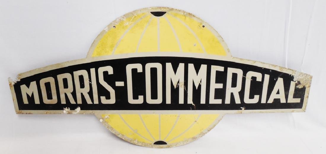 Morris Commercial 2 Sided Sign
