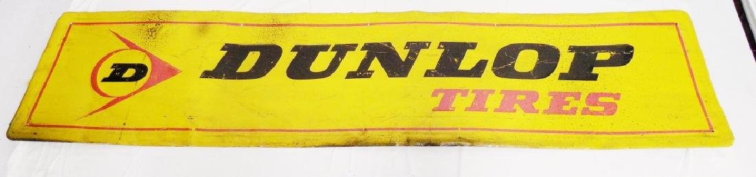 Dunlop Tires Tin Sign