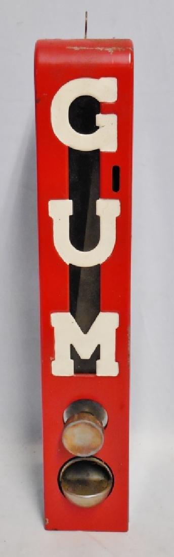 """Gum"" Dispensing Machine with Key"