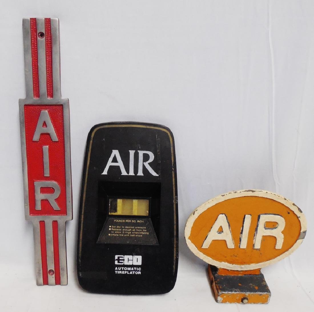 """Lot of 3 """"Air"""" Signs"""