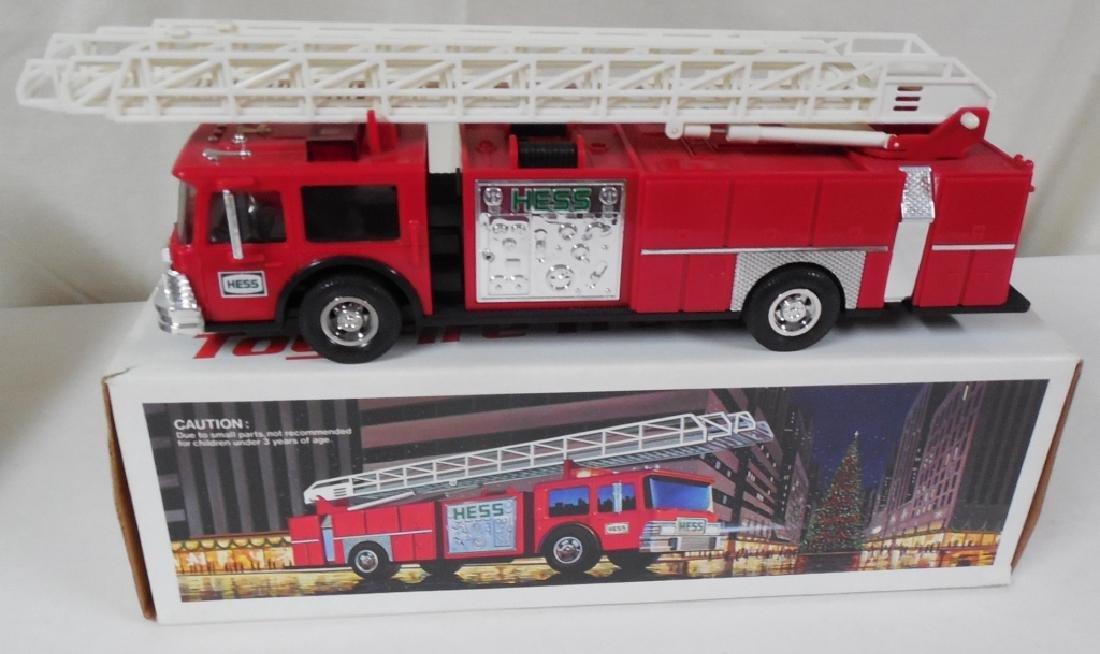 1986 Hess Red Fire Truck
