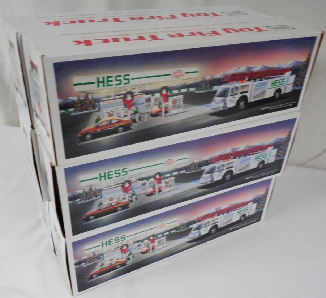 Lot of 6 1989 White Hess Fire Trucks