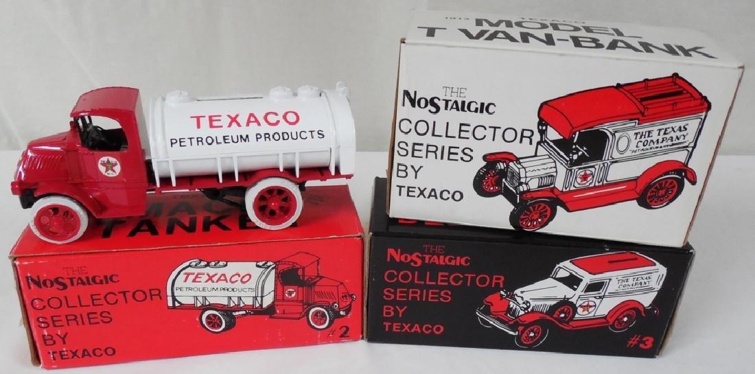 Ertl Texaco Truck Banks w/ Boxes