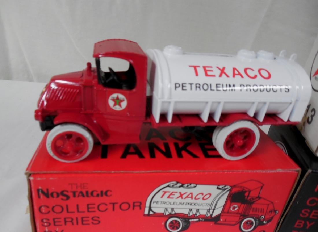 Ertl Texaco Truck Banks w/ Boxes - 2
