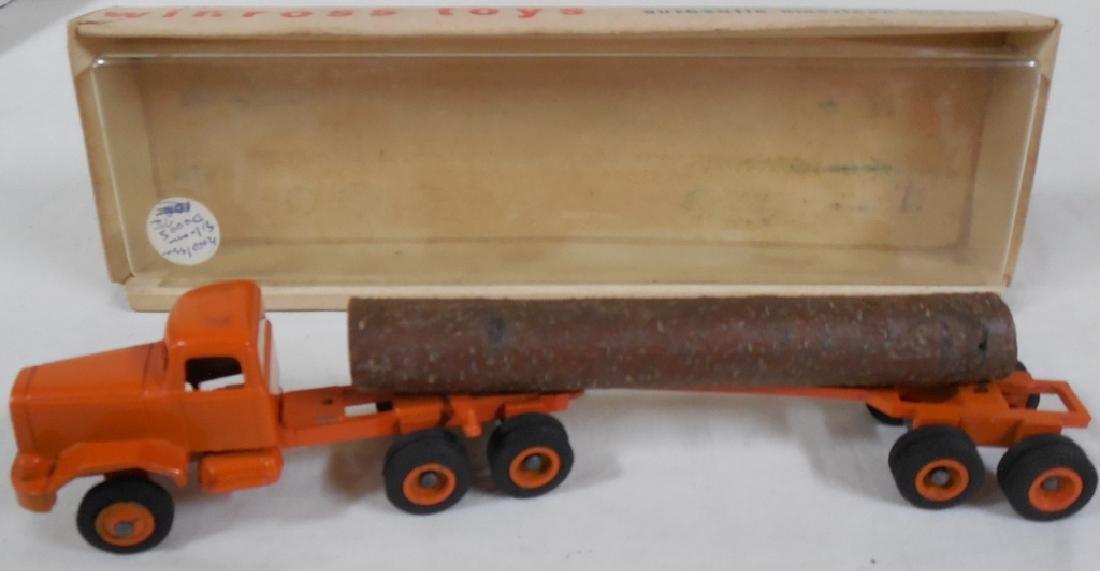 Winross Early Log Truck w/ Box