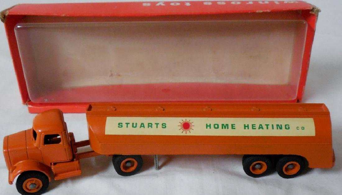 Winross Early Stuarts Home Heating Tanker