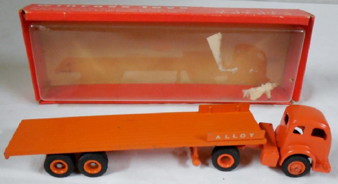 Winross Early Alloy Flat Bed