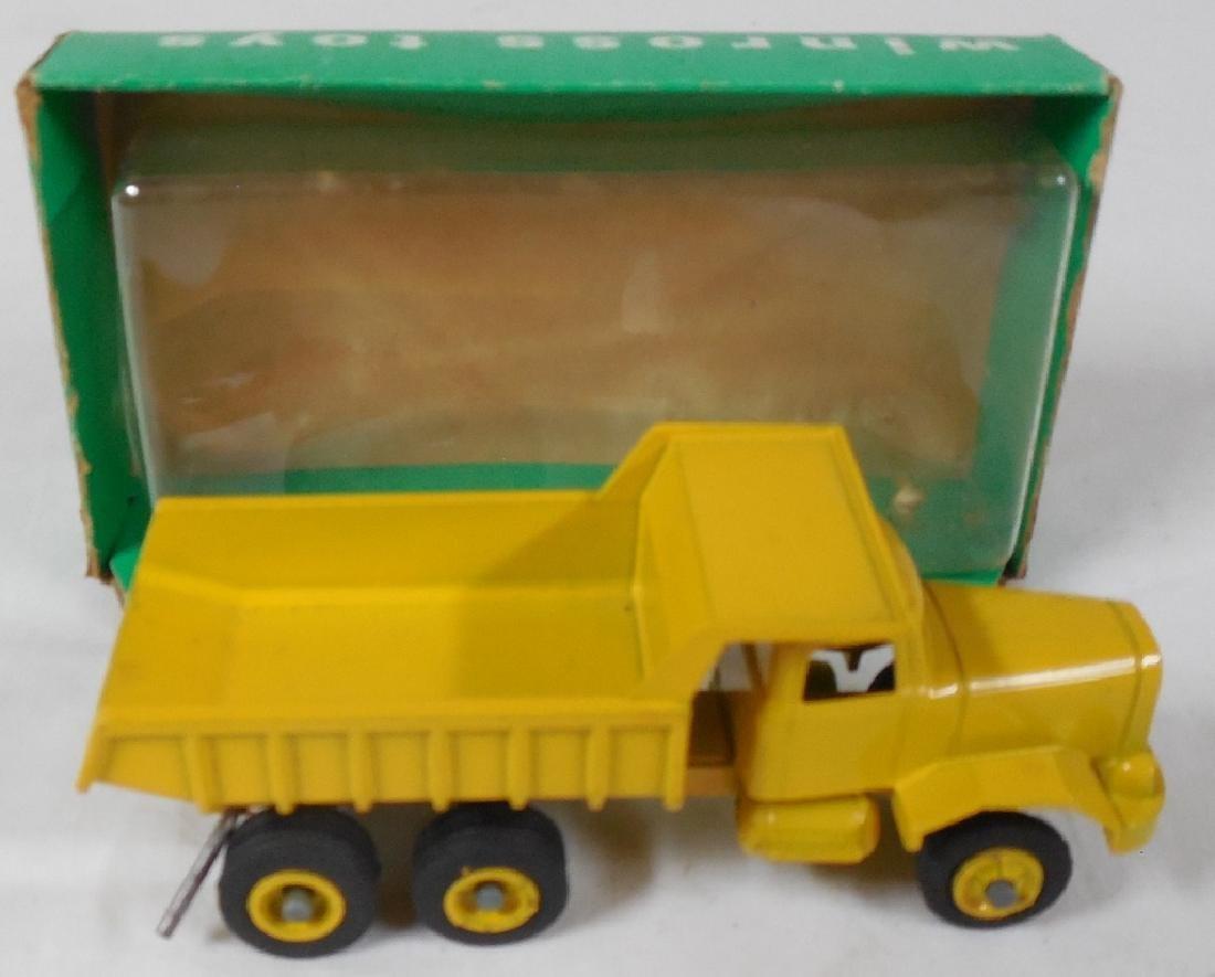 Winross Early Yellow Dump Truck