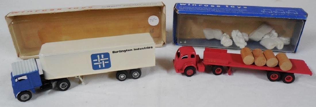 Winross Lot of 2 Early Winross Trucks w/ Boxes