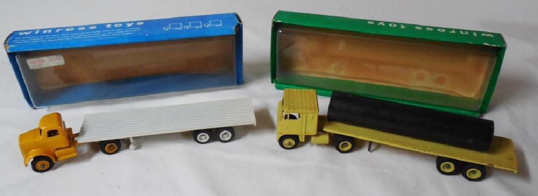 Winross Lot of 2 Early Trucks w/ Boxes
