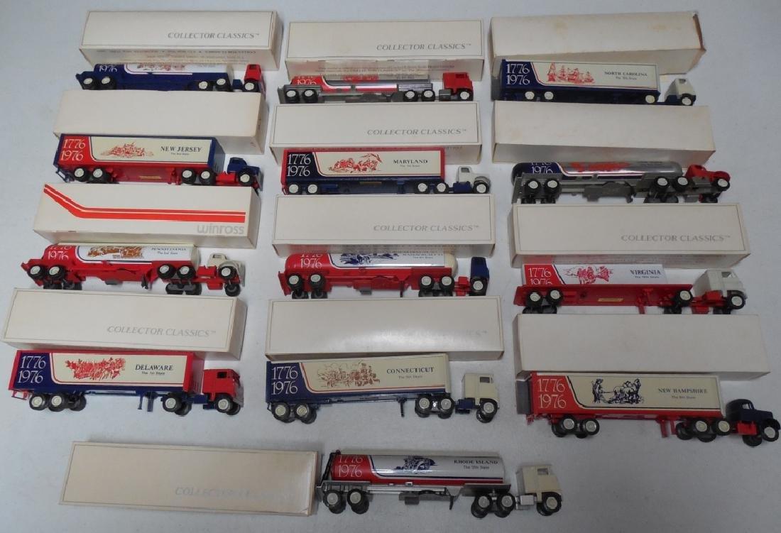 Winross Set of 13 Original Colonies Trucks