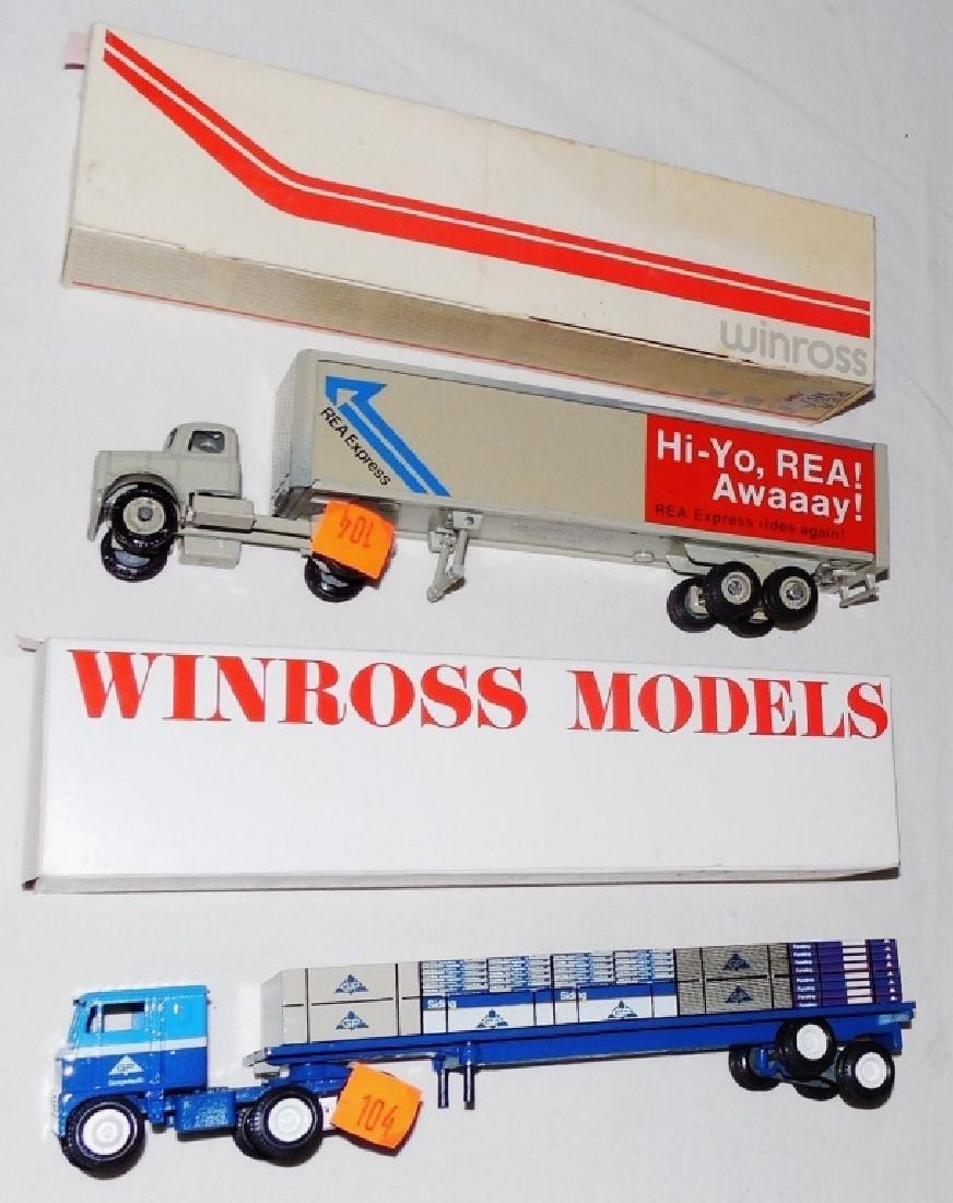 Winross Lot of 2 Trucks