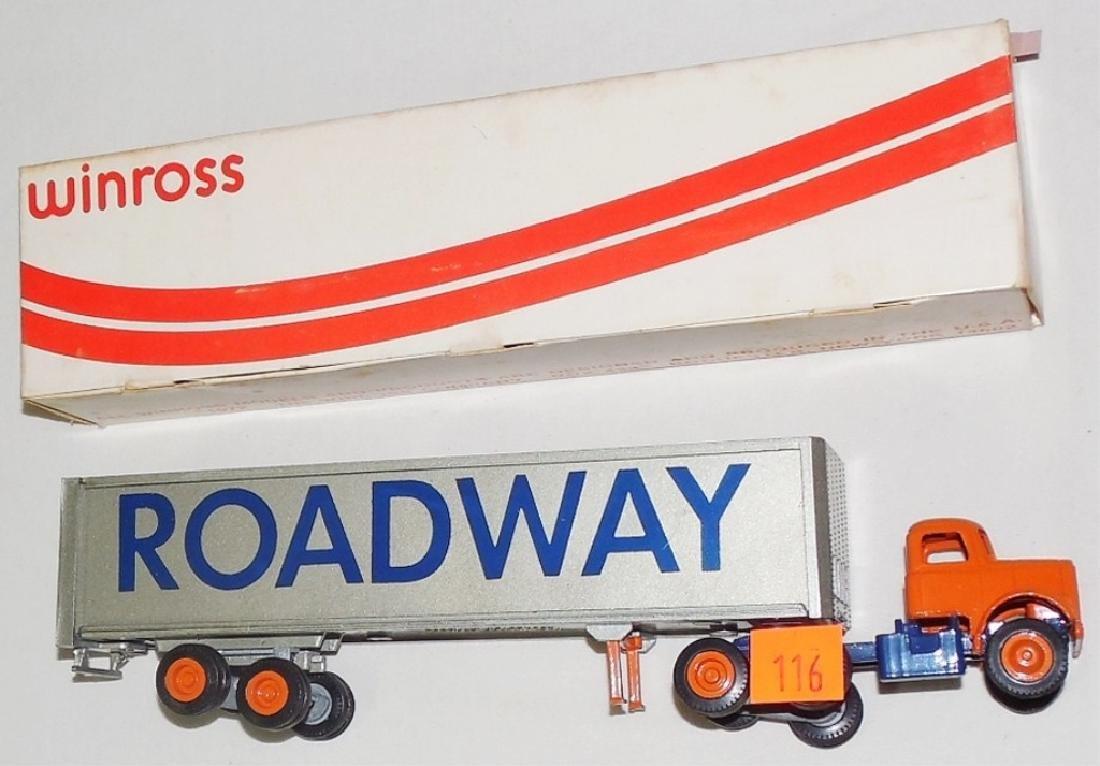 Winross Roadway Cargo