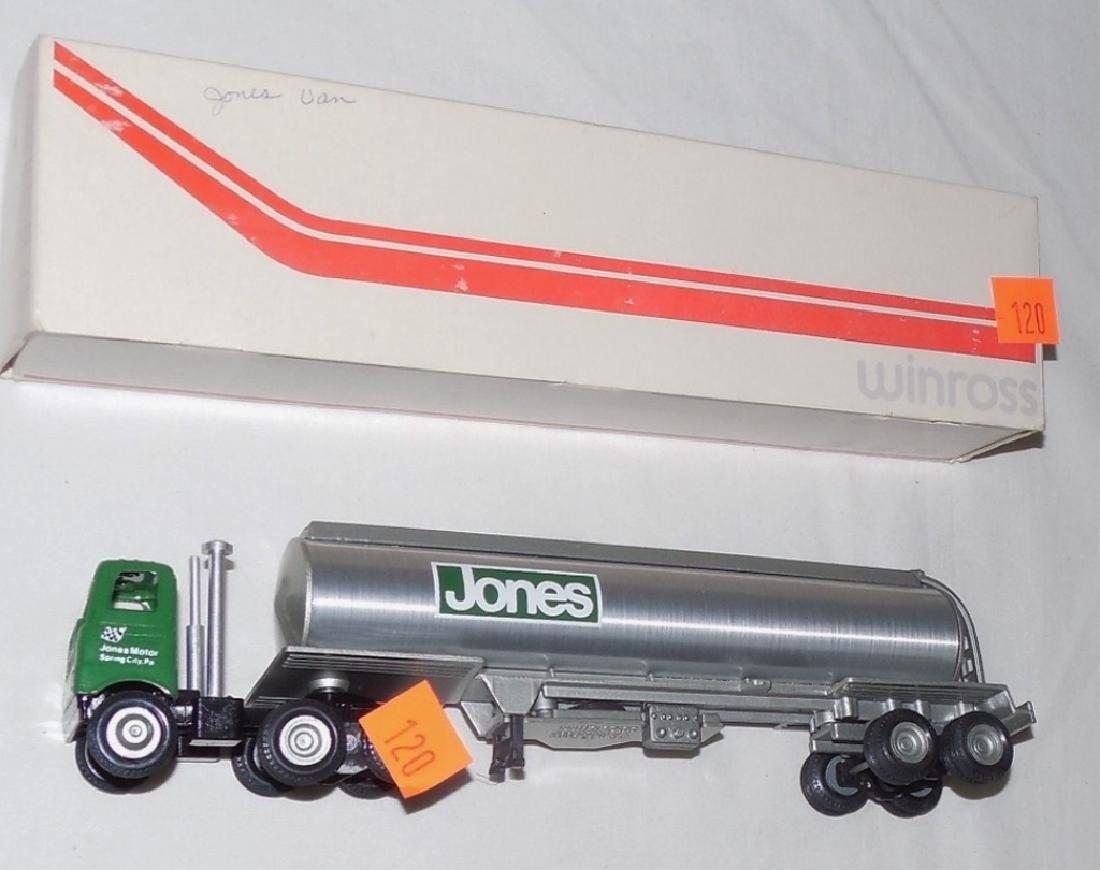 Winross Jones Tanker