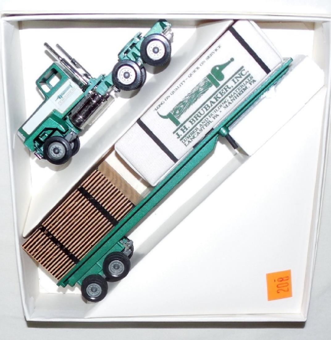 Winross J.H. Brubaker Lumber Truck