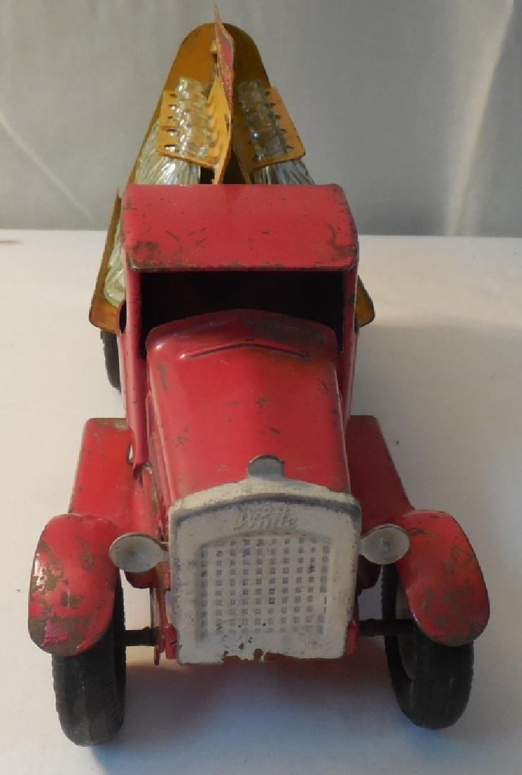 Old Coca-Cola Truck w/ 8 Glass Bottles - 2