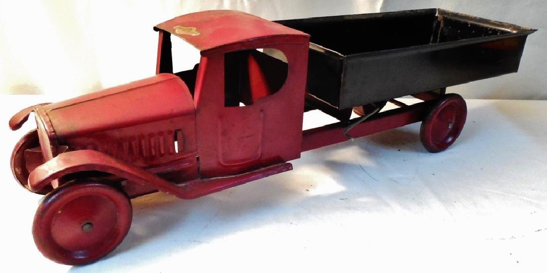 Early Pressed Steal Dump Truck