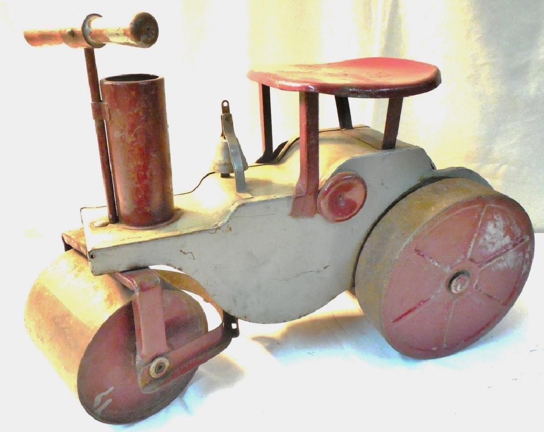 Riding Steam Roller