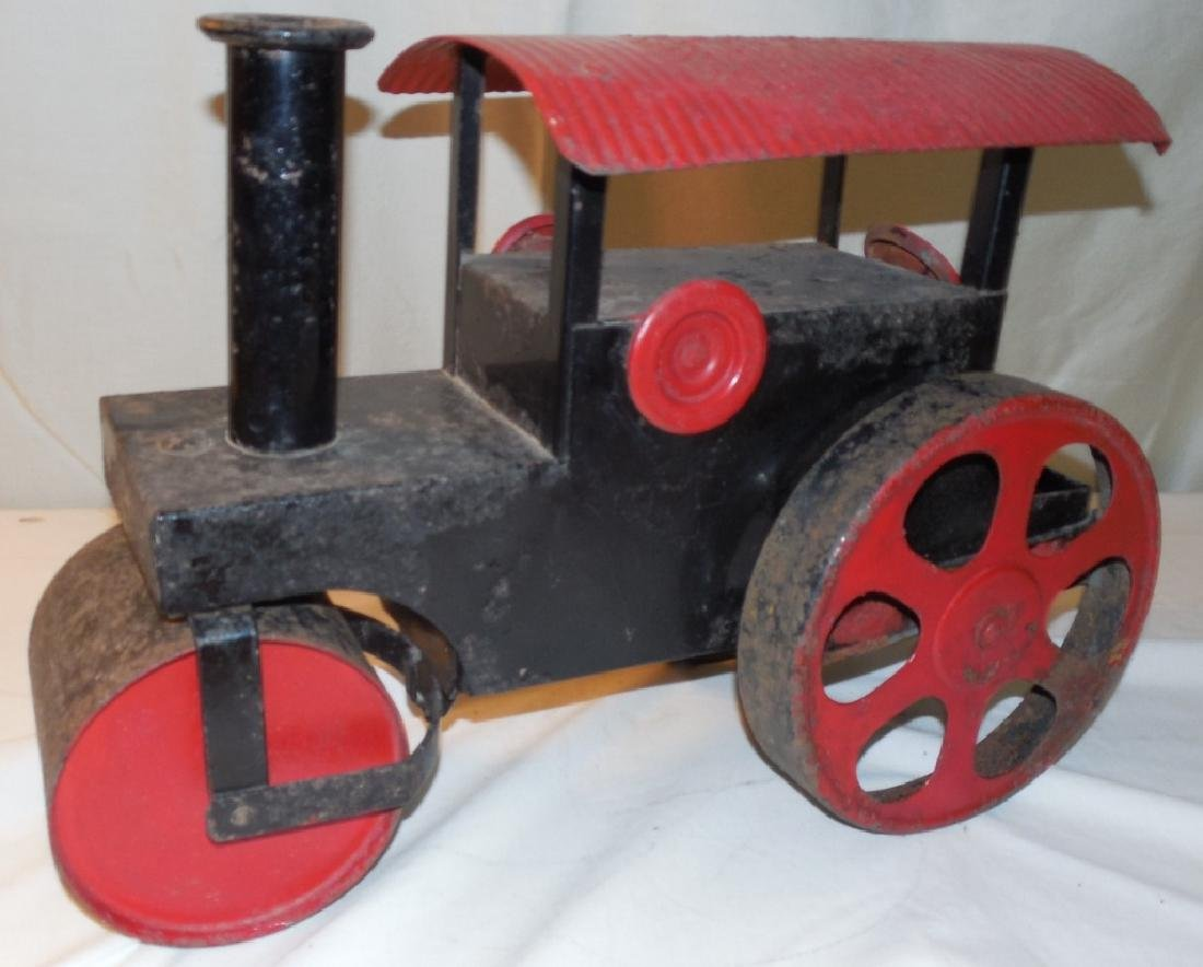 Press Steal Riding Toy Steam Roller