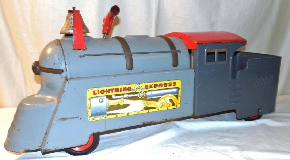 Marx Lightning Express Riding Train