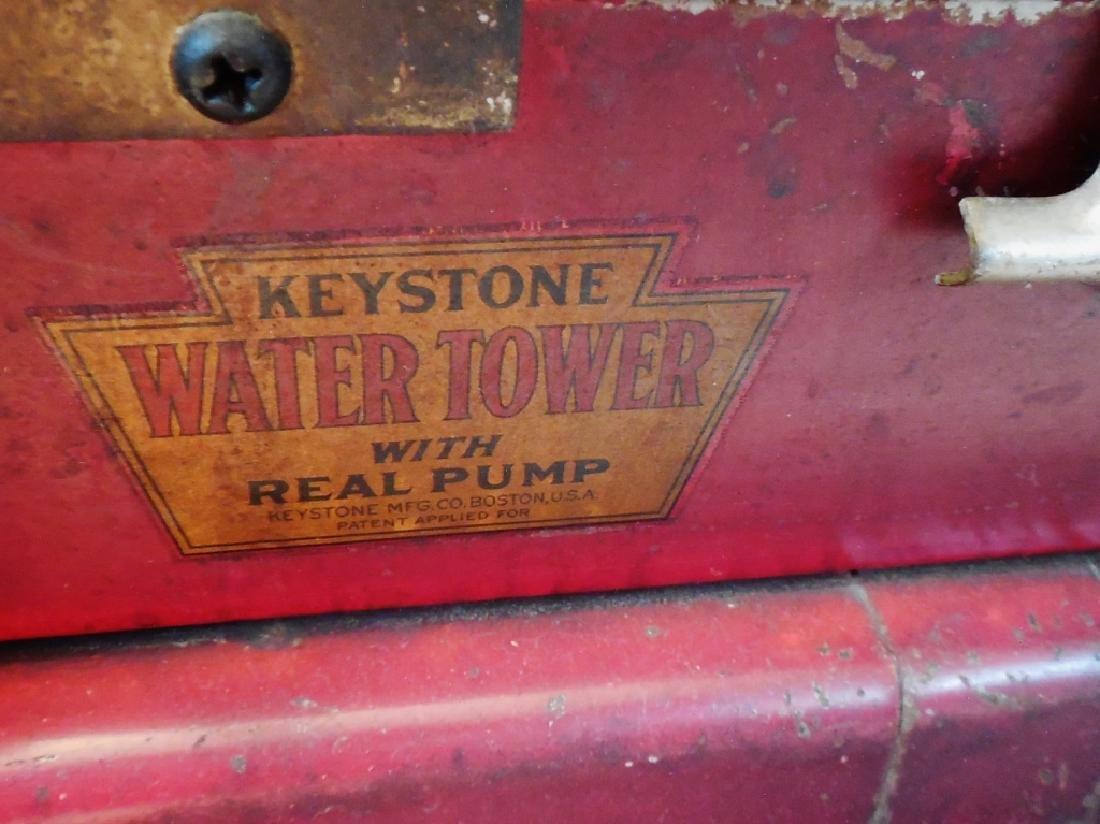 Keystone Water Tower Riding Fire Truck - 4