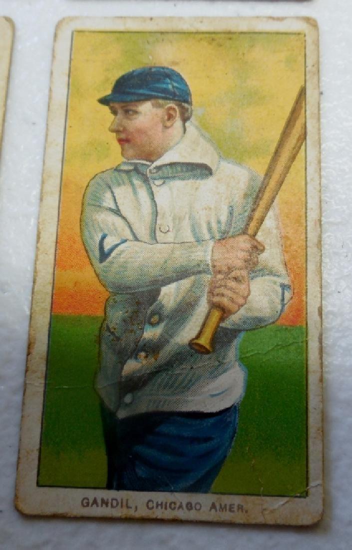 (4) T206 Cards Peidmont Back, - 3