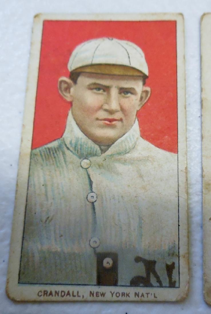 (4) T206 Cards Peidmont Back, - 4