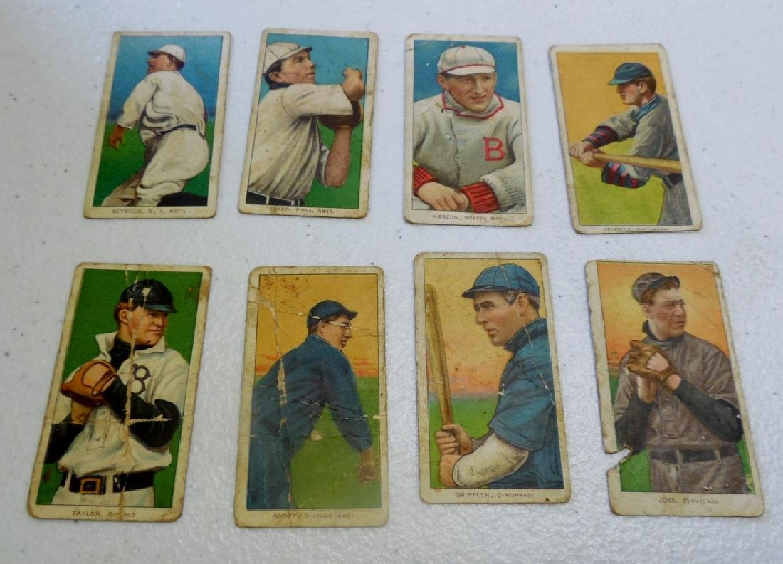 (6) T206 Cards Polar Bear and Sweet Caporal Back
