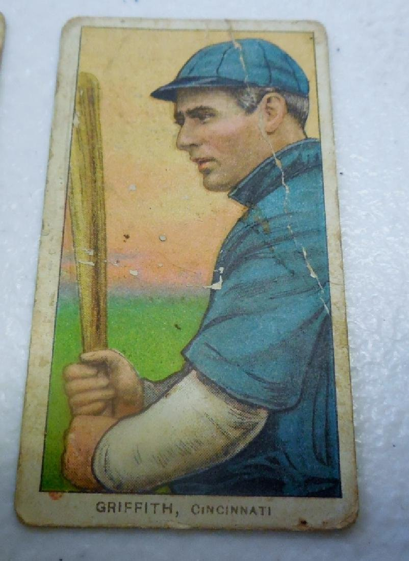 (6) T206 Cards Polar Bear and Sweet Caporal Back - 7