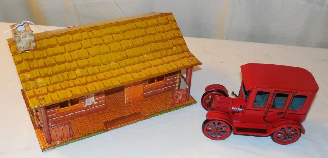 Tin Log Cabin