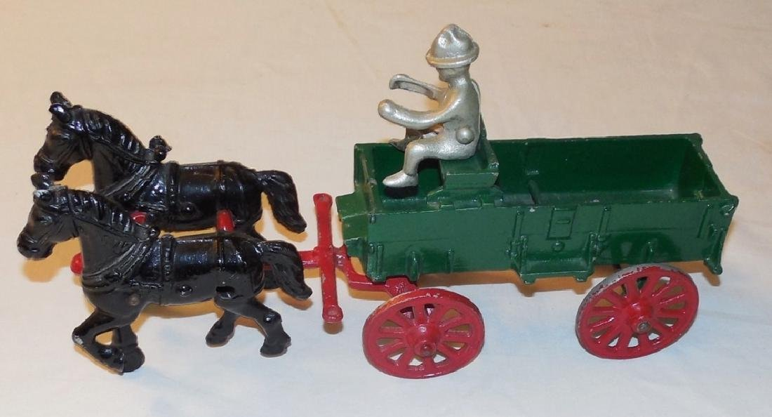 Cast Aluminum Farm Wagon
