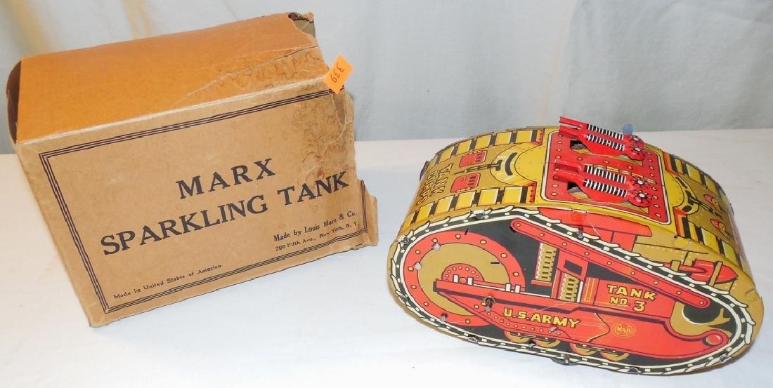 Sparkling Tank w/ Rough Box