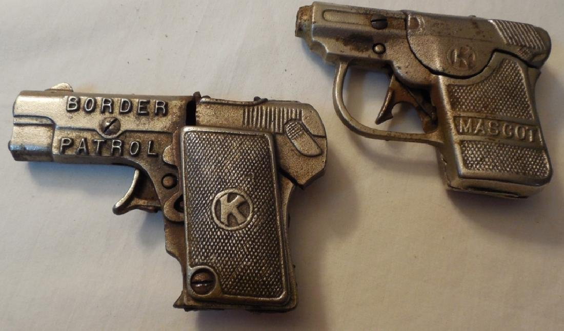 Lot of 2 Kilgore Cap Guns