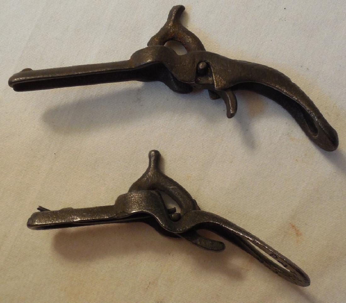 Lot of 2 Early Miniature Cap Guns