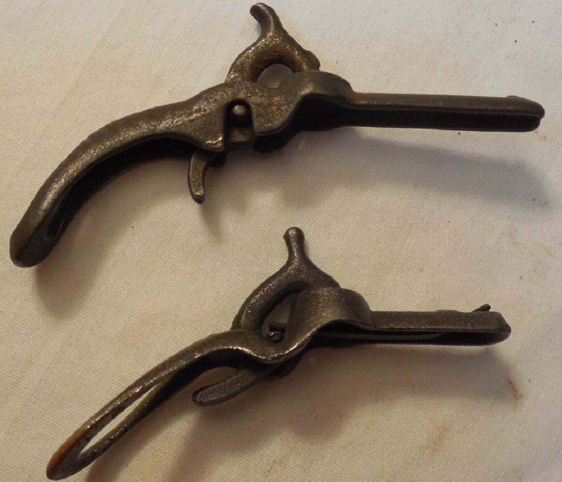 Lot of 2 Early Miniature Cap Guns - 2
