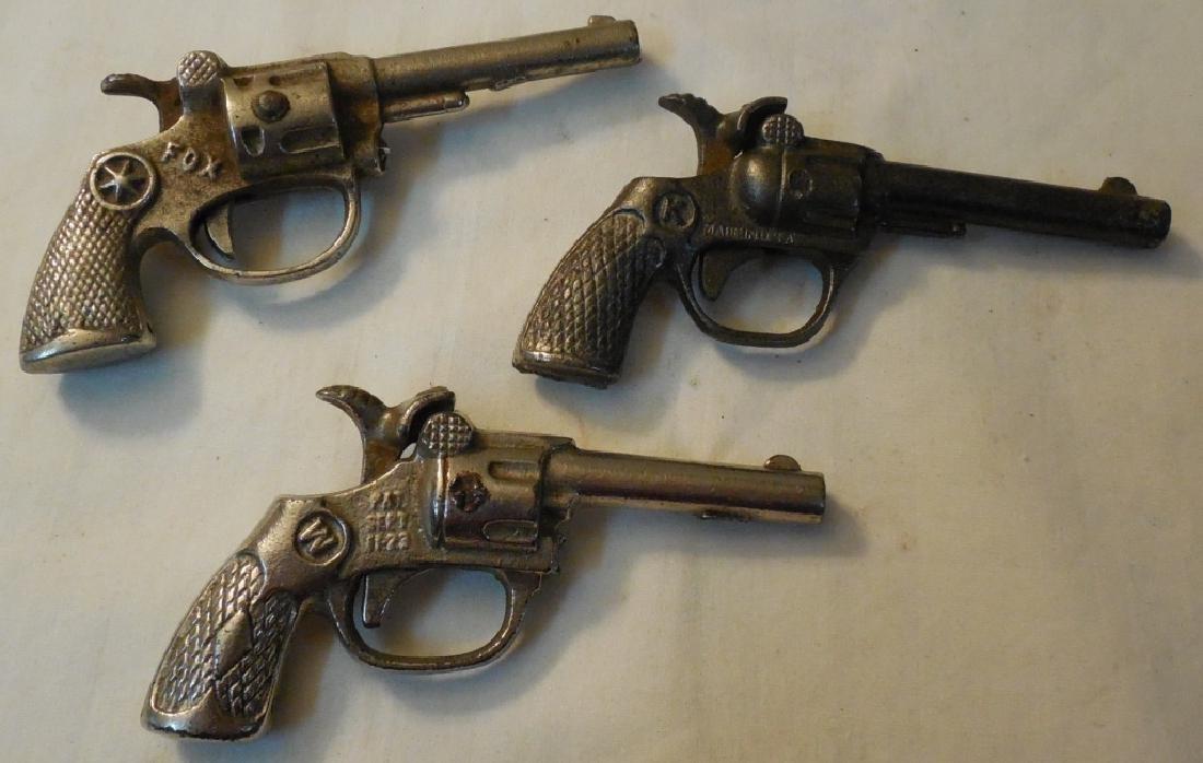 Lot of 3 Early Cap Guns
