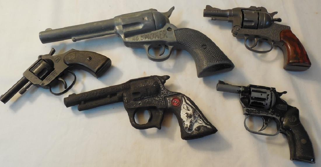 Lot of 5 Toy Guns